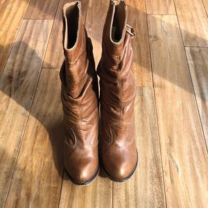 Steve Madden Cowgirl Western Boots